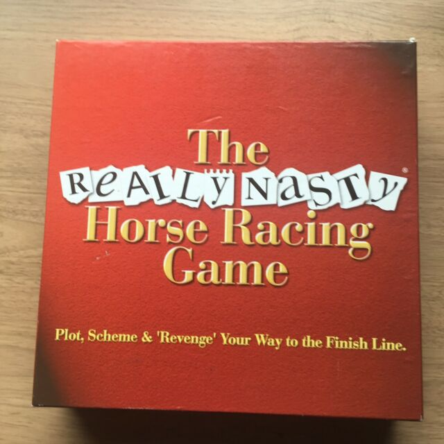 THE REALLY NASTY HORSE RACING GAME : 2002 EDITION (FREE UK P&P)
