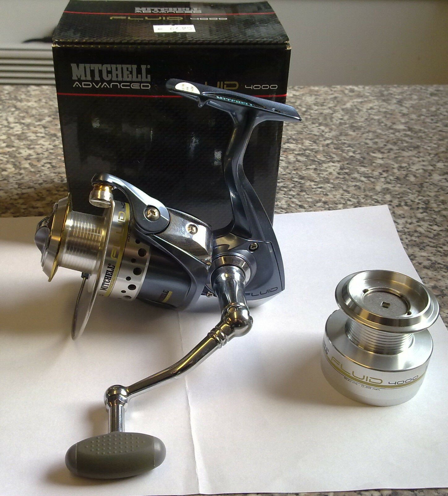Mitchell Advanced Fluid 4500 ANGELROLLE  STATIONÄRROLLE SPINNROLLE ROLLE  fair prices