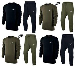 Nike-Mens-Tracksuit-Fleece-Tracksuits-Bottoms-Sportswear-Sweatshirt-Joggers