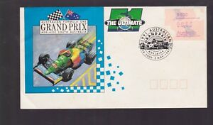 1991-Grand-Prix-Formula-1-Australia-FDC-N-3-Adelaide