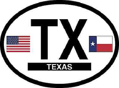"""Texas State Flag 3.5/"""" Sticker Decal Car window 3D reflective Bumper Laptop Truck"""