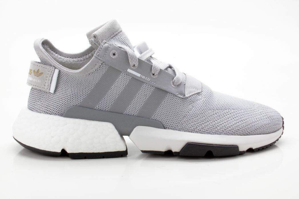 Adidas POD-S3.1 Unisex Turnschuhe Schuhe CG6121 grau-weiß