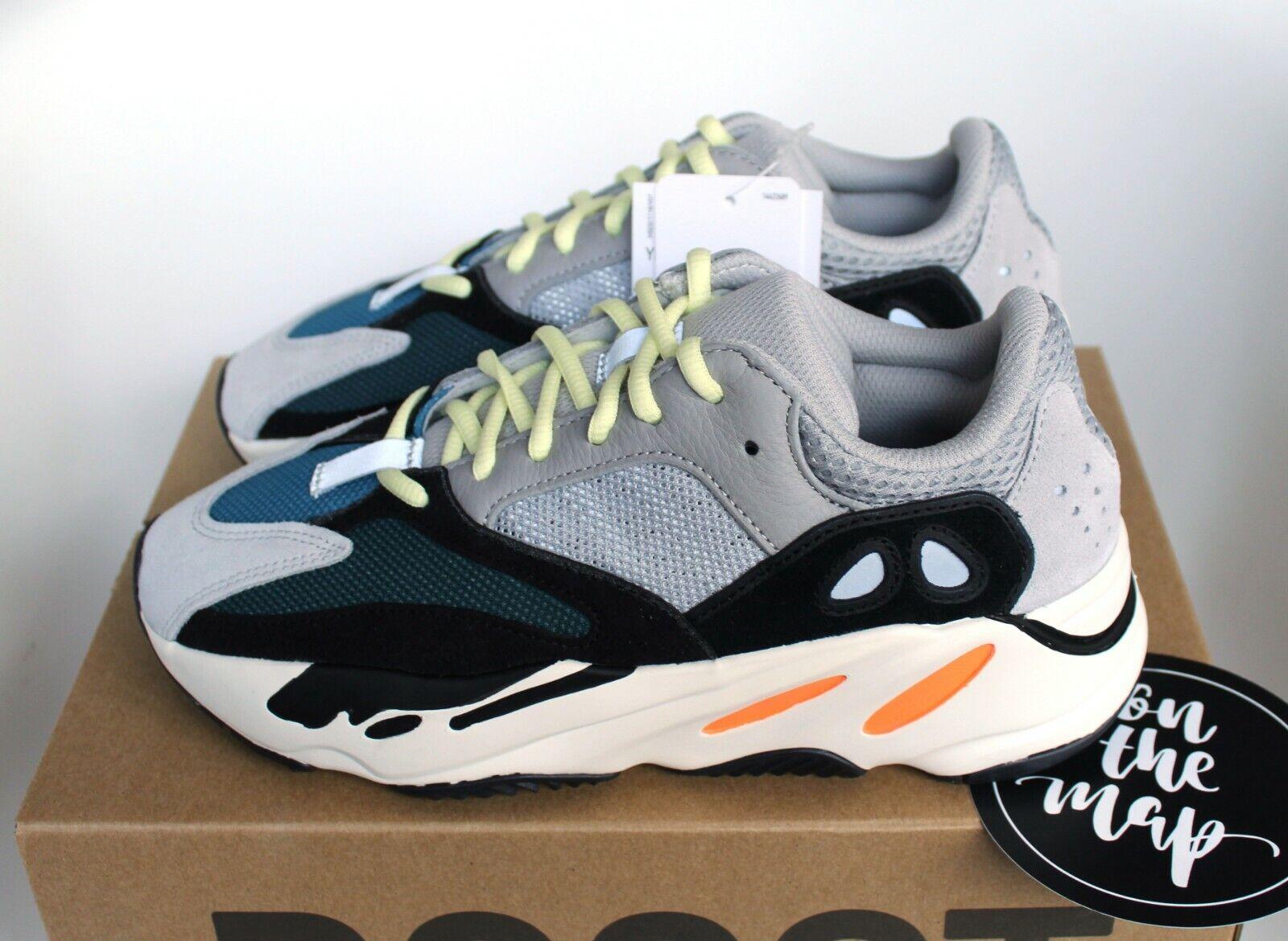 Adidas Yeezy Boost 700 Wave Runner OG Grey Orange Black UK 3 4 5 6 10 11 12 US