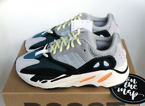 buy online c59c0 fa8ab Details about Adidas Yeezy Boost 700 Wave Runner OG Grey Orange Black UK 3  4 5 6 10 11 12 US