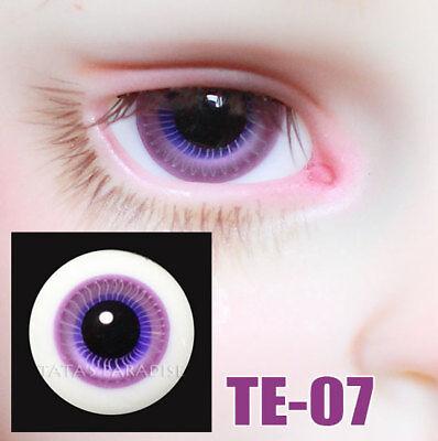 TATA glass eyes TY-10 16mm for BJD SD MSD 1//3 1//4 size doll use aqua blue