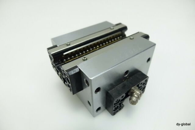 THK Used CSR20 Orthogonal HSR20 XY Axis Linear Bearing block for alignment