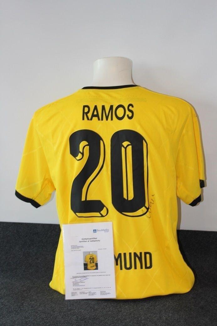 Borussia Dortmund Trikot, Adrian Adrian Trikot, Ramos signiert, BVB, XL 5f9f4f