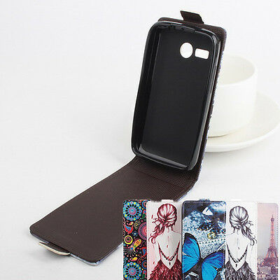 Flip Painted Phone Leather Case Cover Skin Luxury For Lenovo Smartphone Series