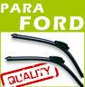 2 x Escobillas Limpiaparabrisas para FORD- AERO Flexibles - Delantera