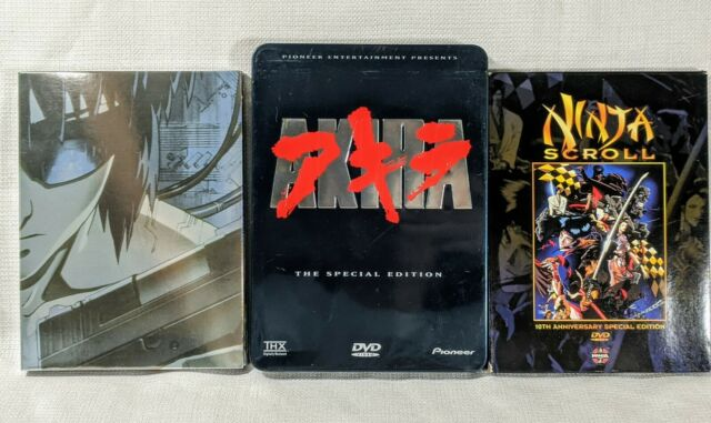 Ninja Scroll 10th Ann. & Ghost in the Shell & Akira Special Edition Manga Anime