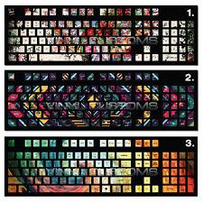 Mechanical Keyboard Vinyl Decal Skin Kit Cherry MX Keycap / Key cap - a06