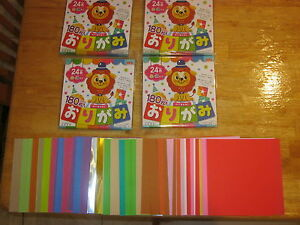 720 sheets of origami folding paper birthday present gifts
