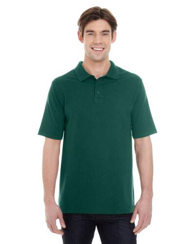 Hanes Mens X-Temp Pique Sport Shirt with Fresh IQ T shirt Polo Tee S-3XL 055P