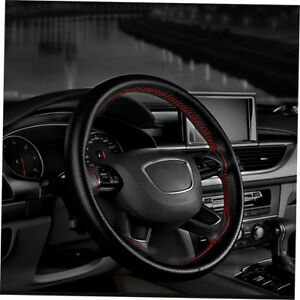 Auto-Car-Steering-Wheel-Cover-With-Needles-And-Thread-Leather-Car-Covers-t8