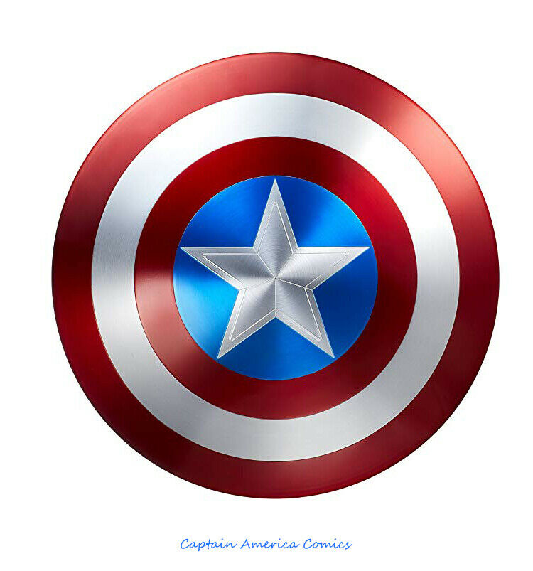 Marvel Legends Captain America 75th Anniversaire Avengers SHIELD Alliage Métal