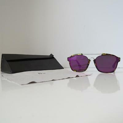 Christian Dior 'abstract' Tortoise Frame/Pink Mirror Square Sunglasses $520 by Christian Dior