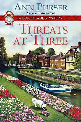 Threats at Three (Lois Meade Mysteries), Ann Purser, Excellent Book