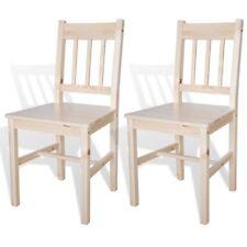 vidaXL Esszimmerstühle 2 Stk. Holz braun günstig kaufen | eBay