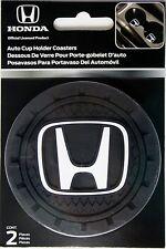 2 Honda auto set cup holder insert coaster mug truck car suv travel universal