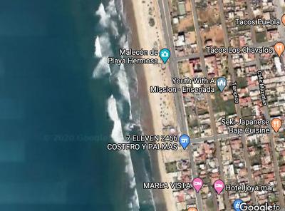 Terreno 450m2 cerca de playa en ENSENADA