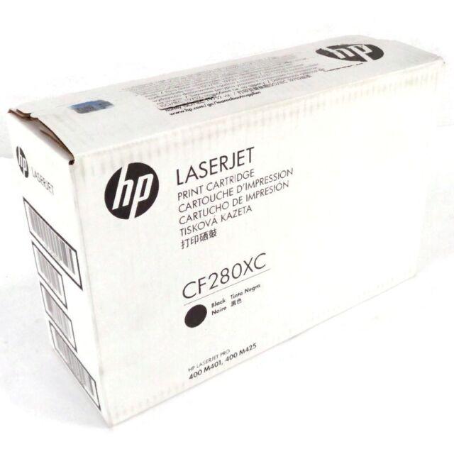 HP 80X Black Toner Print Cartridge CF280XC LaserJet Pro 400 M401/M425 *Sealed