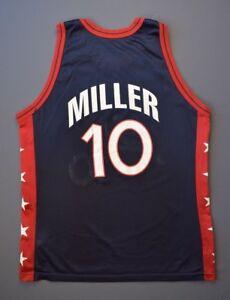 4.9 5 Vintage Team USA Reggie Miller  10 Jersey Men s Size 48 ... b621ac898