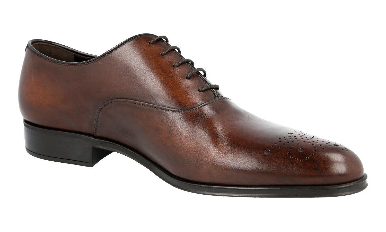 zapatos PRADA PRADA PRADA LUXUEUX 2EA141 marrón NOUVEAUX 6,5 40,5 41 1bbcdb