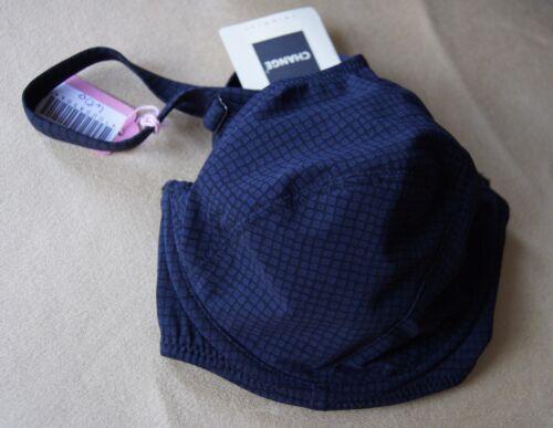Change of Scandinavia Black Check Cup Sized Bikini Top