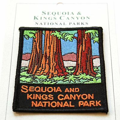 Official Sequoia and Kings Canyon National Park Junior Ranger Souvenir Patch