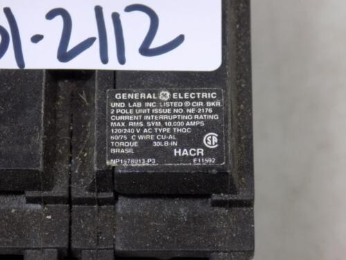 GENERAL ELECTRIC 30AMP 2 POLE THQC CIRCUIT BREAKER