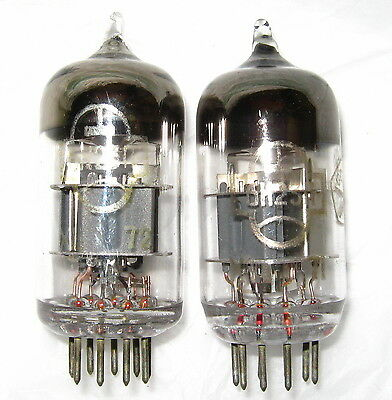 Matched quad 6N23P (ECC88 6DJ7 6922) Reflector Audiophile Dual Triode Tubes
