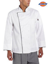 Dickies Chef Executive Long Sleeve Chef Coatjacket Cloth Covered Buttons Dc103