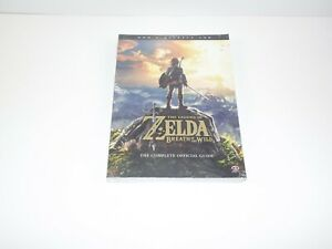 Legend-Of-Zelda-Breath-Of-The-Wild-Official-Game-strategy-Guide-New-Sealed
