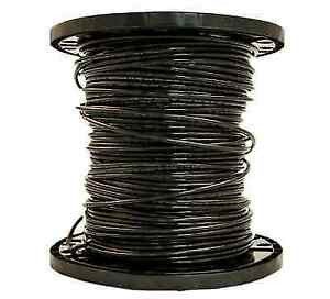 Ft Southwire Simpull Stranded Black Copper Thhn Wire Roll