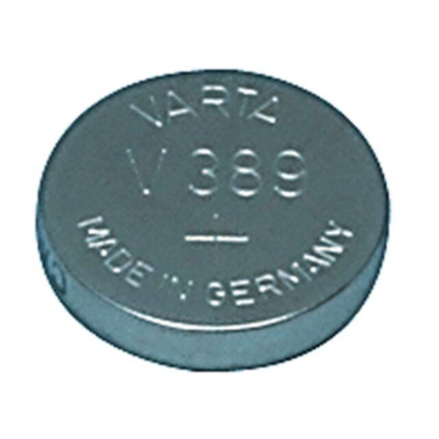1 PILE MONTRE V389 SR54 VARTA  1.55 V PROFESSIONNEL LIVRAISON RAPIDE VALID 2018