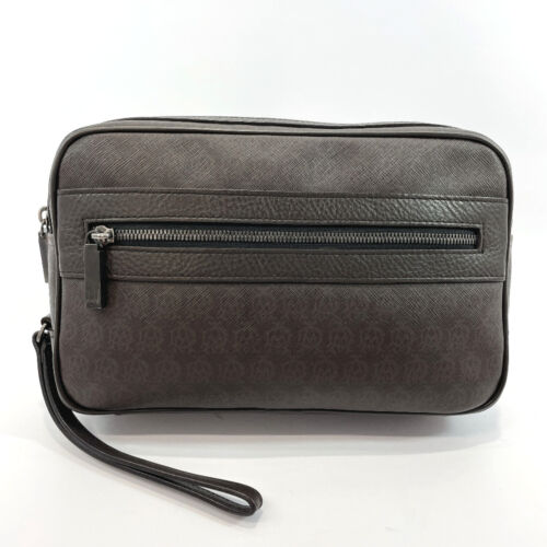 Dunhill business bag leather mens