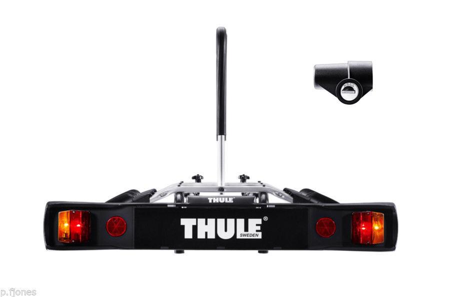 Thule 9503 3   Tres bicicleta portador ciclo + Thule 957 gancho de remolque de bloqueo