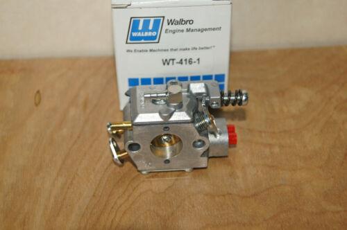 GENUINE WALBRO CARBURETOR WT-416 NEW  *
