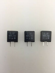 Details about (25 pcs) AC312G104Z5R5 - Murata,  1F 5 5v  Supercapacitor(Memory Back-Up Cap)