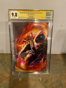 Pheonix-Resurrection-The-Return-of-Jean-Grey-1-CGC-SS-9-8-Signed-by-Greg-Horn
