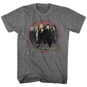 DEF-LEPPARD-Circle-Band-T-SHIRT-S-M-L-XL-2XL-Brand-New-Official-T-Shirt