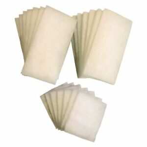 21 x AquaOne 980 / 980T DELUXE Poly Wool Filter Pads (7 Sets)