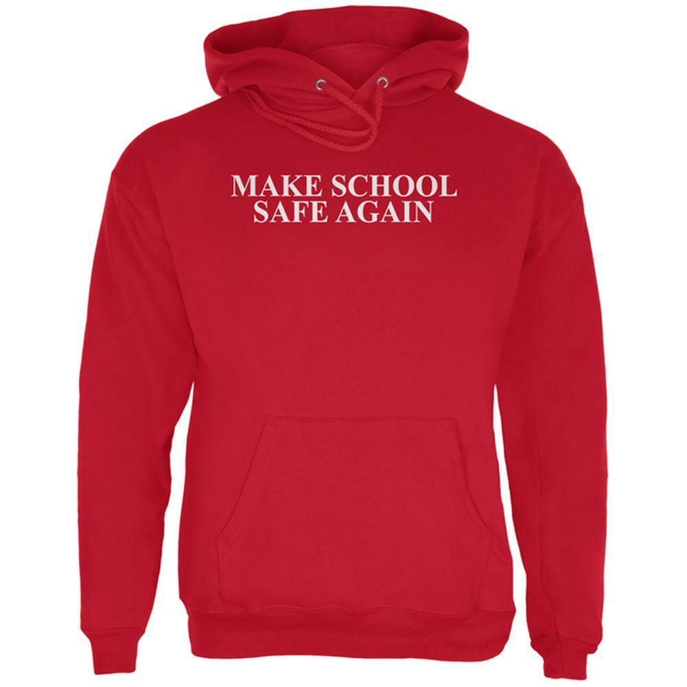 Make School Safe Again  Herren Hoodie