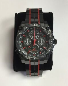 880886bcd BULOVA Men's Precisionist Red Black Ion Stainless Steel Chronograph ...