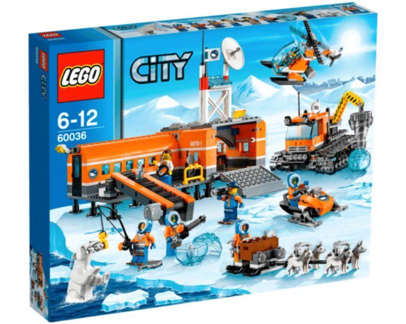 LEGO ® City 60036 Arctique-camp de base nouveau OVP _ Arctic Base Camp New MISB NRFB