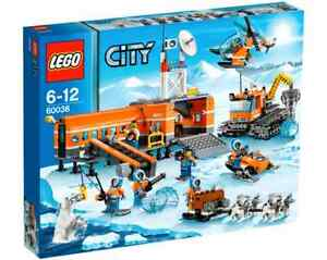 LEGO-City-60036-Arktis-Basislager-NEU-OVP-Arctic-Base-Camp-NEW-MISB-NRFB