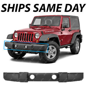 Jeep Wrangler Jk Front Bumper >> New Stock Front Bumper Replacement For 2007 2018 Jeep Wrangler Jk