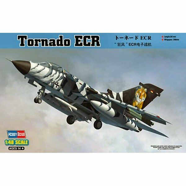 HobbyBoss 80354 Tornado ECR 1 48 scale plastic model aircraft kit