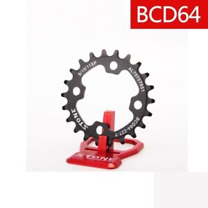 64BCD-Chainring-Narrow-Wide-N-W-Circle-4-bolts-22T-24T-26T-28T-1x-System