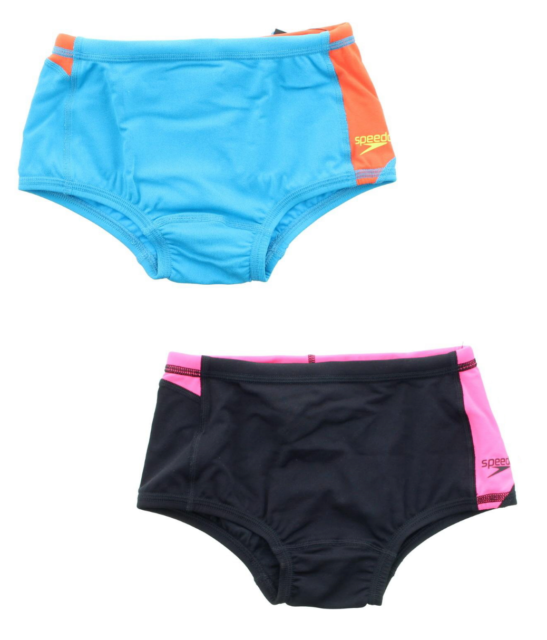 Speedo Mens Endurance Lite Color Block Brief Swimsuit